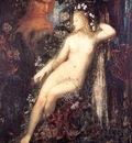 Moreau, Gustave Galatea detail end