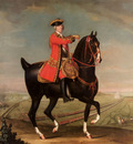 Morier Daniel Equestrian Portrait Of Field Marshal Sir Jean Louis Ligonier