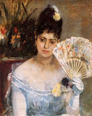 Morisot Berthe At the ball Sun