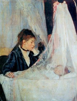 Morisot Berthe The cradle Sun
