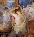 Morisot Berthe Before the Mirror