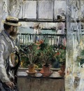 Morisot Berthe Eugene Manet on the Isle of Wight