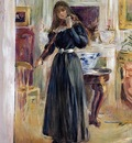 Morisot Berthe Julie Playing a Violin