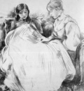 Morisot Berthe The seamstress Sun