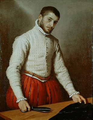 Moroni,G B  A tailor, ca 1570, 97 8x74 9 cm, NG London
