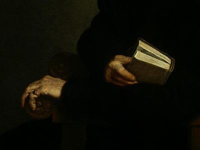 Moroni,G B  Titians Schoolmaster, c  1575, 96 8x74 3 cm,