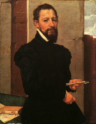 Moroni Portrait of a Man, 1560, canvas, Art History Museum,