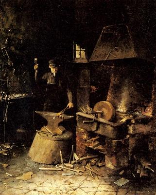 Mortelmans Frans At The Forge