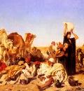 Muller Leopold Carl Rast In Der Wuste Bei Gizeh