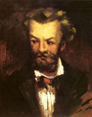 Munkacsy Mihaly A Self Portrait Of The Artist