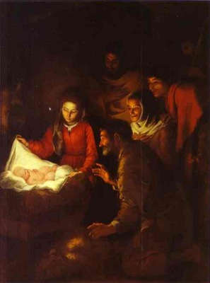 Bartolome Esteban Murillo Adoration of the Shepherds