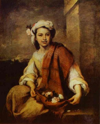 Bartolome Esteban Murillo Flower Seller