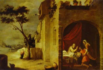 Bartolome Esteban Murillo Isaac Blessing Jacob