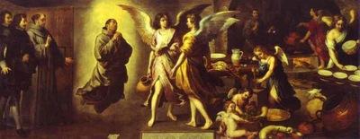 Bartolome Esteban Murillo La Cuisine des Anges