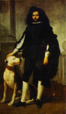 Bartolome Esteban Murillo Portrait of Andres de Andrade i la Col