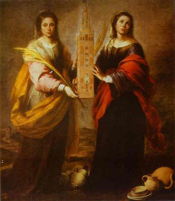 Bartolome Esteban Murillo St  Justa and St  Rufina