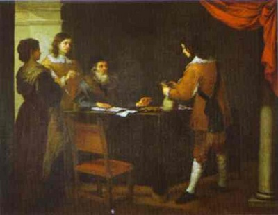 Bartolome Esteban Murillo The Prodigal Son Receiving His Portion of Inheritance