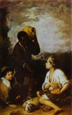 Bartolome Esteban Murillo Three Boys
