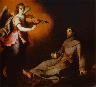 Bartolome Esteban Murillo Vision to St  Francis