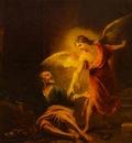 Bartolome Esteban Murillo Angel Rescues St  Peter from Prison