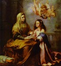 Bartolome Esteban Murillo Childhood of Virgin