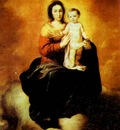 Bartolome Esteban Murillo Madonna in the Clouds