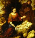 Bartolome Esteban Murillo Rest on the Flight into Egypt