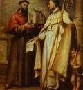 Bartolome Esteban Murillo St  Leander and St  Bonaventura