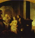 Bartolome Esteban Murillo The Patrician Juan and His Wife Reveal His Dream to Pope Liberius