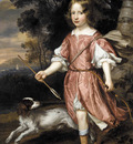 Mytens Jan Portrait of the son of a nobleman as Cupid