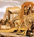 Nain Le Louis Return from the harvest Sun