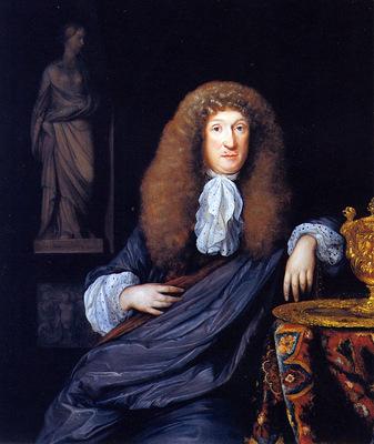 Neer van der Eglon Portrait of a gentleman Sun