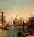 Friedrich Nerly Der Canale Grande Venedig