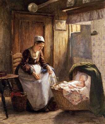 Neuhuys Johannes Albert Motherly care Sun