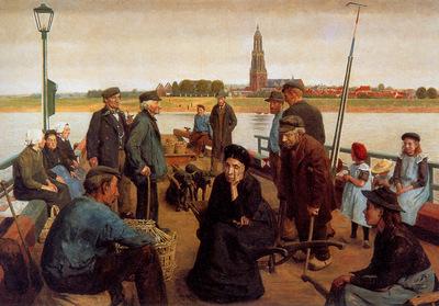 Nibbrig Ferdinand Hart Ferry in Rhenen Sun