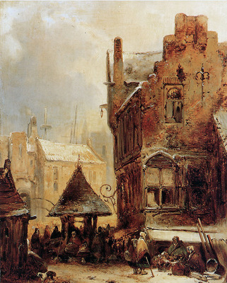 Nuyen Wijnand City view in the winter Sun