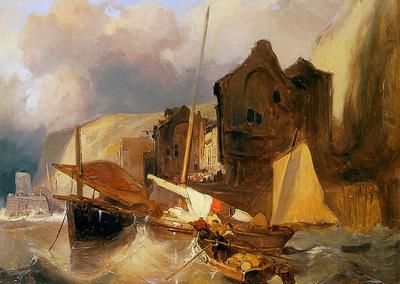 Nuyen Wynand Sketch of a harbourview Sun