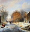 Nuyen Wijnand Van Vredeburghweg in Rijswijk in Winter Sun