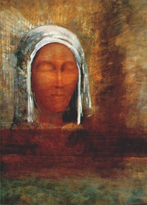 redon virgin of the dawn