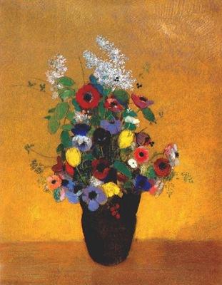 redon flowers c1905
