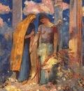 redon mystical conversation c1896