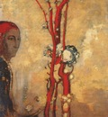 redon the red tree c1905