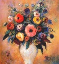 redon vase of flowers c1912