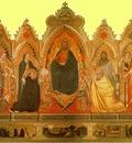 Orcagna,A  The Strozzi altarpiece, 1354 57, 190x296 cm, Capp