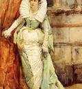 Ortiz Francisco Pradilla y An Elegant Lady