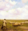 Osborne Walter Frederick The Return Of The Flock