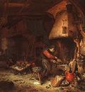 Ostade,van An Alchemist, 1661, National Gallery, London