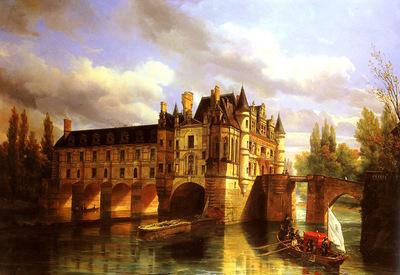 Ouvrie Pierre Justin Le Chateau de Chenonceau