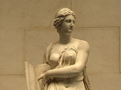 Pajou Augustin Calliope c  1763 dt1