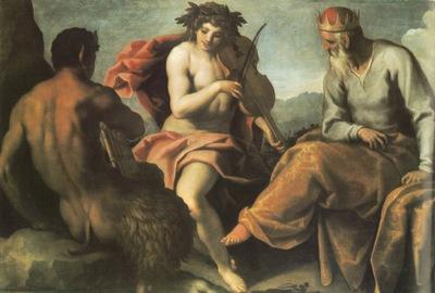 Palma Giovane Apollo and Marsyas, 134x195 cm, Herzog Anton U